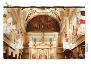 Inside St Louis Cathedral Jackson Square French Quarter New Orleans Diffuse Glow Digital Art Carry-all Pouch