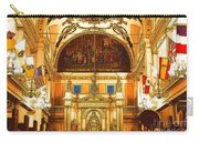Inside St Louis Cathedral Jackson Square French Quarter New Orleans Digital Art Carry-all Pouch