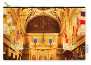 Inside St Louis Cathedral Jackson Square French Quarter New Orleans Film Grain Digital Art Carry-all Pouch