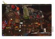 Inside The Bar In Luckenbach Tx Carry-all Pouch