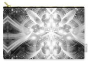Intelligent Design Bw 2 Carry-all Pouch by Angelina Vick