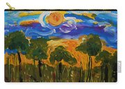 Intense Sky And Landscape Carry-all Pouch