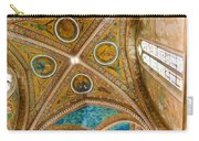 Interior St Francis Basilica Assisi Italy Carry-all Pouch by Jon Berghoff