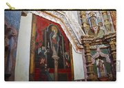 Interior Wall San Xavier Del Bac Mission Carry-all Pouch