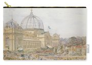 International Exhibition Carry-all Pouch by Edward Sheratt Cole