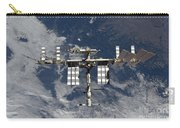 International Space Station Backgropped Carry-all Pouch