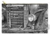 International Truck Black And White Carry-all Pouch