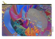 Into The Inner World Carry-all Pouch by Deborah Benoit