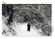 Into The Snowy Forest Carry-all Pouch