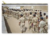 Iraqi Air Force College Cadets March Carry-all Pouch by Stocktrek Images