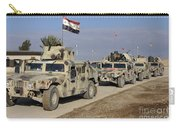 Iraqi Army Soldiers Aboard M1114 Humvee Carry-all Pouch