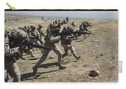 Iraqi Army Soldiers Move To Positions Carry-all Pouch
