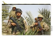 Iraqi Soldiers Conduct A Foot Patrol Carry-all Pouch