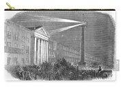 Ireland: Dublin, 1849 Carry-all Pouch