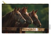 Ireland Thoroughbred Horses Carry-all Pouch