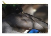 Iridescent Blue Carry-all Pouch by Sharon Talson
