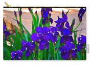 Iris 23 Carry-all Pouch by Pamela Cooper