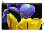 Iris And Tulip Carry-all Pouch
