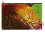 Iris Stamen Macro Carry-all Pouch