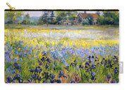 Irises And Two Fir Trees Carry-all Pouch