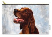 Irish Red Setter Carry-all Pouch
