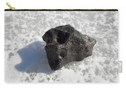 Iron Nickel Meteorite On Ice Carry-all Pouch