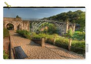 Ironbridge England Carry-all Pouch by Adrian Evans