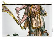 Iroquois Warrior Carry-all Pouch