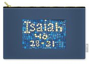 Isaiah 40 28-31 Carry-all Pouch