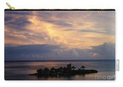 Island At Sunset Carry-all Pouch