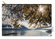 Islands On A Lake In Autumn Carry-all Pouch