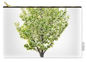 Isolated Flowering Pear Tree Carry-all Pouch