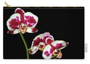 Isolated Orchids Carry-all Pouch
