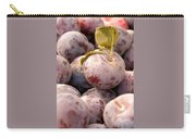 Italian Plums At Market Carry-all Pouch