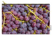 Italian Red Grape Bunch Carry-all Pouch