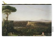 Italian Scene Composition Carry-all Pouch by Thomas Cole