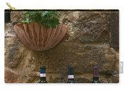 Italian Wine And Flowers Carry-all Pouch