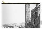 Italy: Siena, 19th Century Carry-all Pouch by Granger