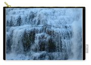 Ithaca Falls New York Closeup Carry-all Pouch