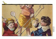 Ivorine Trade Card, C1880 Carry-all Pouch