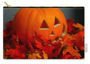 Jack-o-lantern Halloween Display Carry-all Pouch