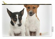 Jack Russell Terrier Dog, Rockie Carry-all Pouch