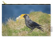 Jackdaw Gathering Nesting Materials Carry-all Pouch