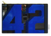 Jackie Robinson 42 Carry-all Pouch by Rob Hans