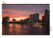 Jacksonville Skyline Night Carry-all Pouch