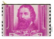 James Russell Lowell Postage Stamp Carry-all Pouch