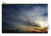 January Sunset 2012 Carry-all Pouch