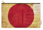 Japan Flag Postcard Carry-all Pouch