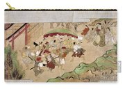 Japan: Peasants, C1575 Carry-all Pouch