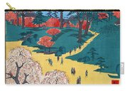 Japan: Temple Gardens Carry-all Pouch